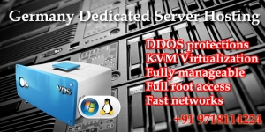 Germany Dedicated Server Hosting at affordable price.